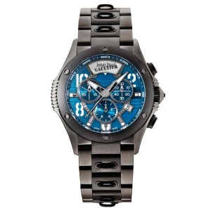 Jean Paul Gaultier Swiss Made   Men's Watch-JPG0104011 Black & Blue