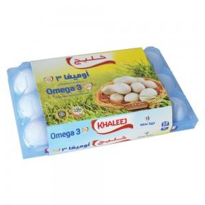 Khaleej Eggs Omega3, 15's