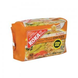 Koka Oriental Instant Noodles 10 packs, 850 gm