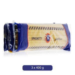Kuwait Flour Mills & Bakers Co. Spaghetti Pasta - 3 x 400 g