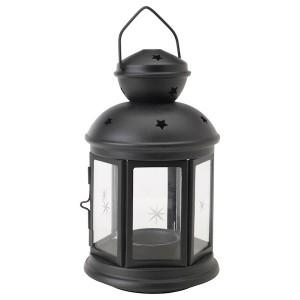 Home Lantern 11.5X11X20 Matt Black