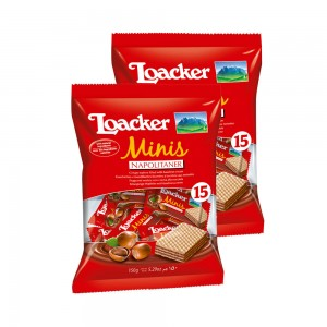 Loacker Minins - 2x150gm