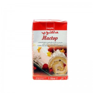 Mactop Whipping Cream 1 Ltr