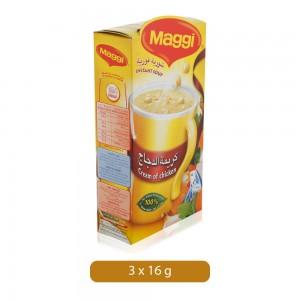 Maggi Cream of Chicken Instant Soup - 3 x 16 g