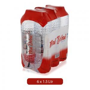 Mai Dubai Low Sodium Water Bottle - 6 x 1.5 Ltr
