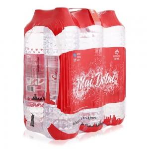 Mai Dubai Pure Drinking Water - 6 x 1.5 Ltr