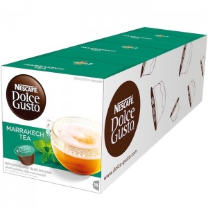 Nescafe Dolce gusto Marrakech Tea Coffee Capsules (16 Capsules, 16 Cups) 116.8g, 3 Pcs