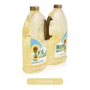 Mazola Sunflower Oil - 2 x 1.8 Ltr