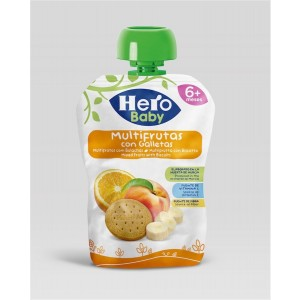 Hb Pouch Mxd Fruits With Biscuits 100 Gm