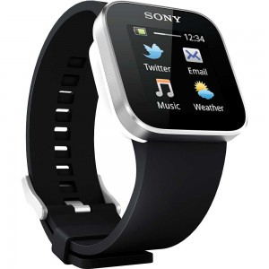 Sony MN2 BLACK SmartWatch