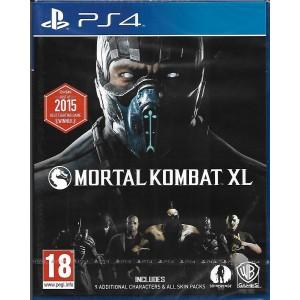Sony PS4 Game Mortal Kombat XL