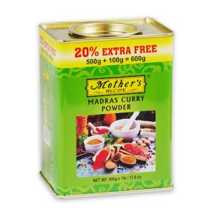 Mothers Recipe Madras Curry Powder - 600gm