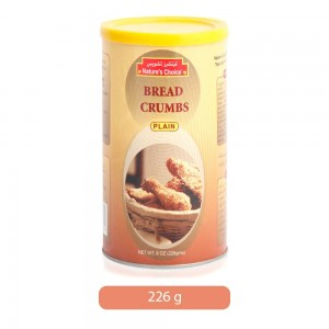 Nature's Choice Plain Bread Crumbs - 226 g