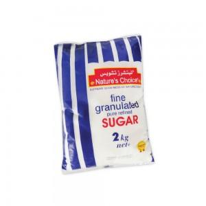 Natures Choice Fine Granulated Sugar 2Kg