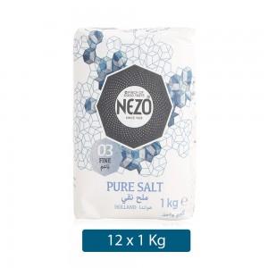 Nezo 03 Fine Pure Salt - 12 x 1 kg