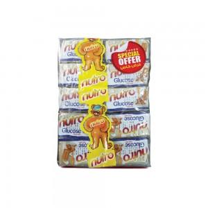 Nutro Glucose+Nice+Malt N Milk, 3x10x40gm