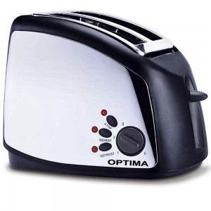 Optima  950W 2 Slice Toaster, TO900