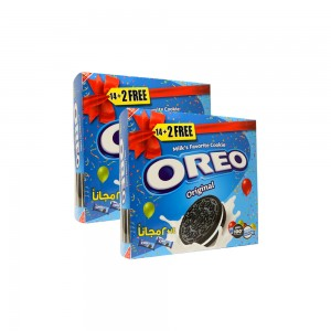 Oreo Cookies Original, 2x16x38gm