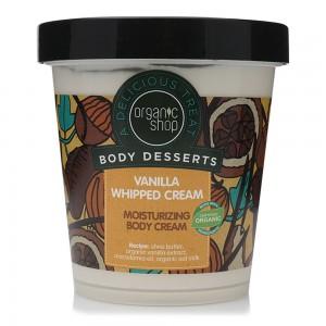 Organic Shop Body Desserts Vanilla Whipped Cream Moisturizing Body Cream - 450 ml