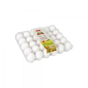 Ova Plus White Eggs Medium, 30's