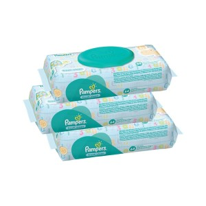 Pampers Wipes 56'S 2+1