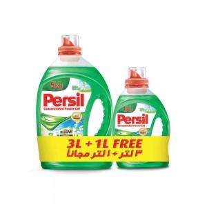 Persil Gel White Flower, 3 L + 1 L, Pack of 1