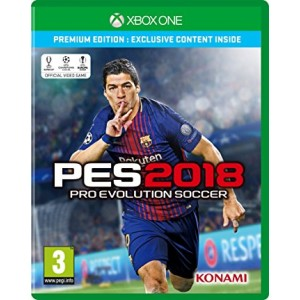 X Box One Game PES 2018