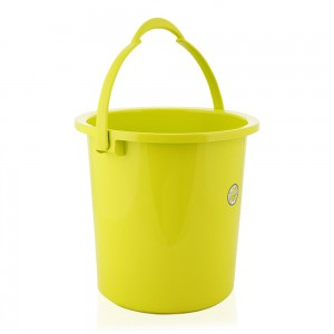 Pioneer Plastic Pail with Handle - Green, Medium