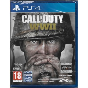 PS4 GAME CALL OF DUTY WWII