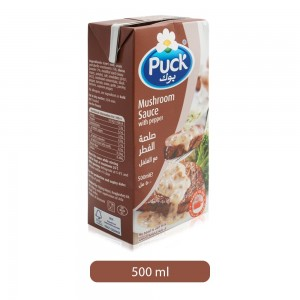 Puck Mushroom Sauce with Pepper - 500 ml