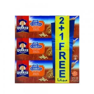 Quaker Oats Cookies Honey Nuts 3x126gm