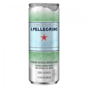 S.Pellegrino Sparkling Mineral Water Can - 330 ml