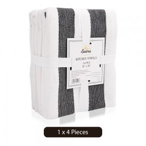 Saara-Black-Kitchen-Towel-4-Pieces_Hero