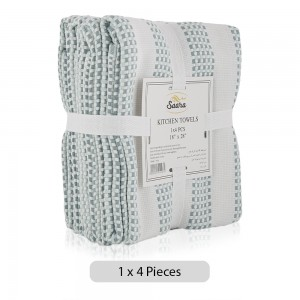 Saara-Kitchen-Towels-Green-4-Pieces_Hero