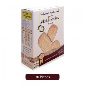 Sahary Al Rashaka Seed Wheat Rusks - 30 Pieces