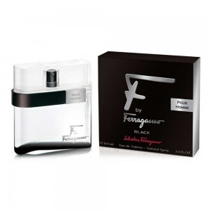 Ferragamo Black Salvatore Ferragamo F for Men Eau de Toilette (EDT) 100ml