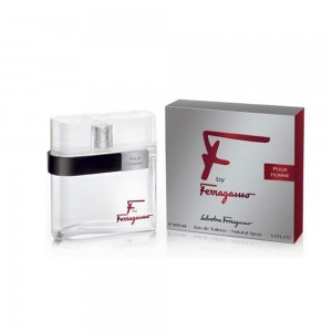 Salvatore Ferragamo F by Ferragamo For Men Eau de Toilette (EDT) Silver 100ml