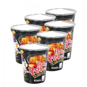 Samyang Hot Chicken Flavor Cup - 6x70gm