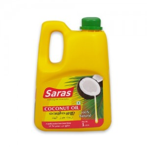 Saras Coconut Oil 1Ltr