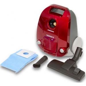 Samsung Canister Vacuum Cleaner 1600 Watt - Red, SC4130