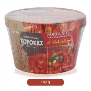 Semchorong Topokki Sweet & Spicy Rice Cake - 142 g