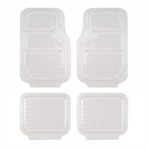 Sentry Car Floor Mats 4 Pcs - Clear