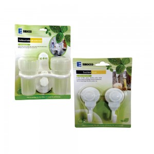 Sirocco Tooth Brush Holder+Suction Cup