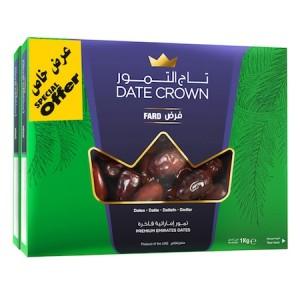Date Crown Fard 2x 1Kg