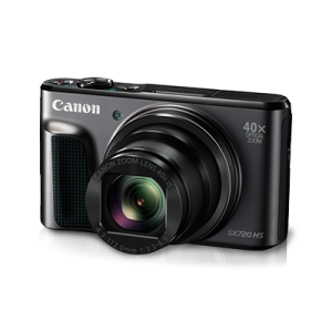 Canon Power Shot Digital Camera SX720HS Black