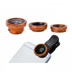 SBS TEKITLENS31 Lens Kit 3 in 1 universal for smartphone
