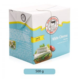 The Three Cows Low Fat White Cheese - 500 g