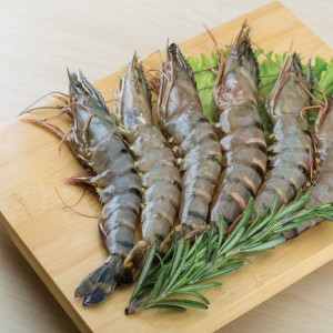 Tiger Shrimps U5 Fresh, Per Kg, India