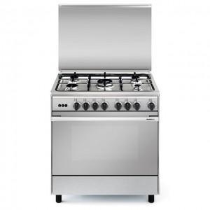 GLEMGAS 80x60 Gas Cooker UN8612GI/FS