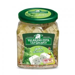 Valbreso Feta Basilic, 300 gm